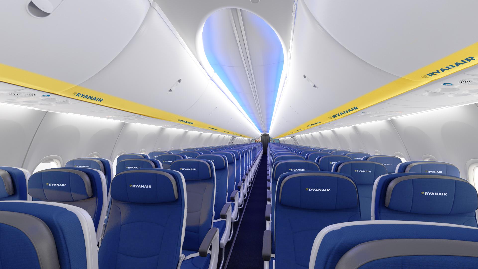 Atnaujintas Ryanair žiemos sezono tvarkaraštis. Naujas interjeras