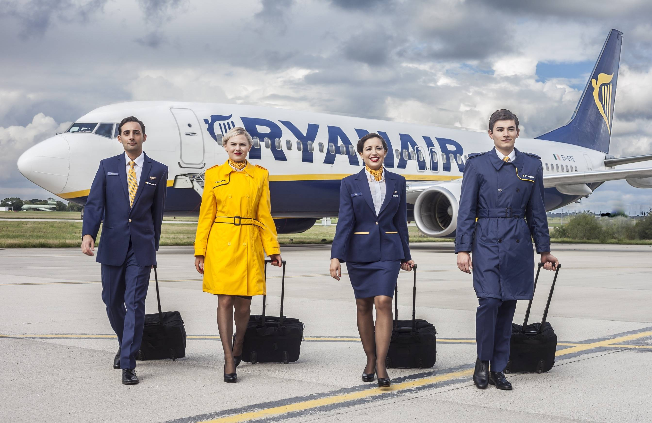 Atnaujintas Ryanair žiemos sezono tvarkaraštis. Ryanair įgula