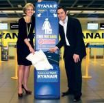 Ryanair bagažo mokesčiai. Bagažo patikros dėžė