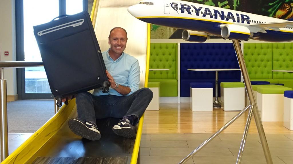Ryanair registruotas bagažas