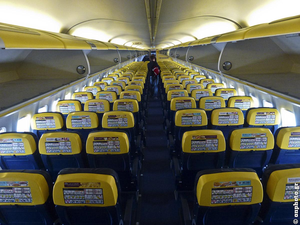Ryanair sėdimos vietos