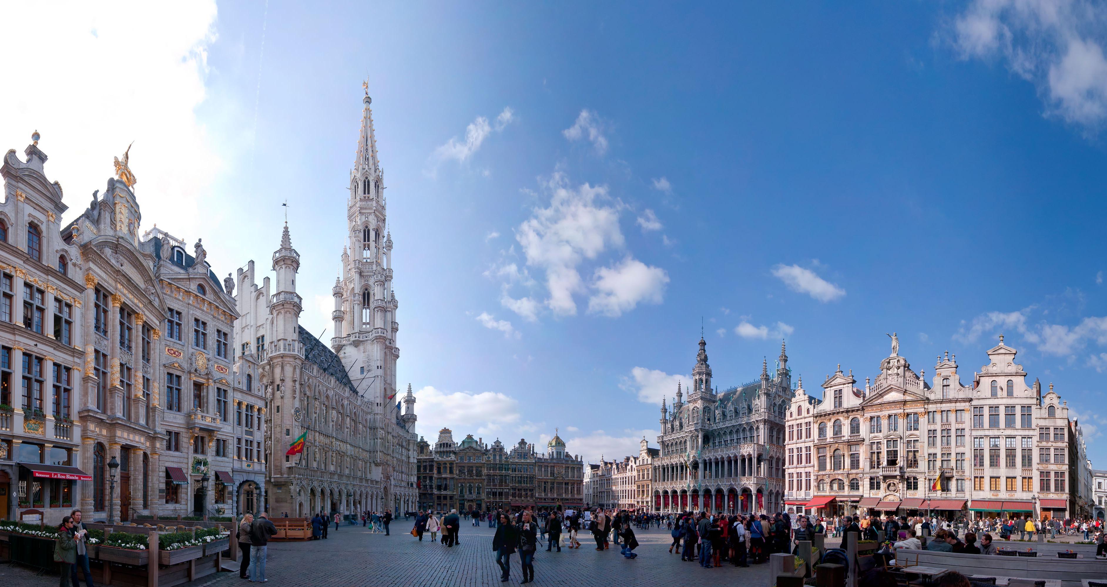 Ryanair skrydžiai į Belgiją. Briuselis
