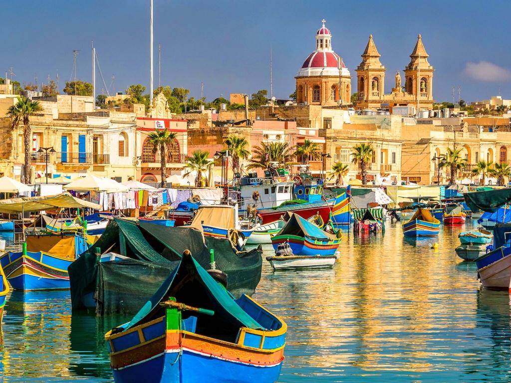 Ryanair skrydžiai į Maltą