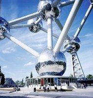 Briuselis, Atomiumas. Ryanair skrydžiai į Briuselį