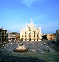 Milanas. Ryanair skrydžiai į Milaną