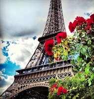Paryžius, Eifelio bokštas. Ryanair skrydžiai į Paryžių