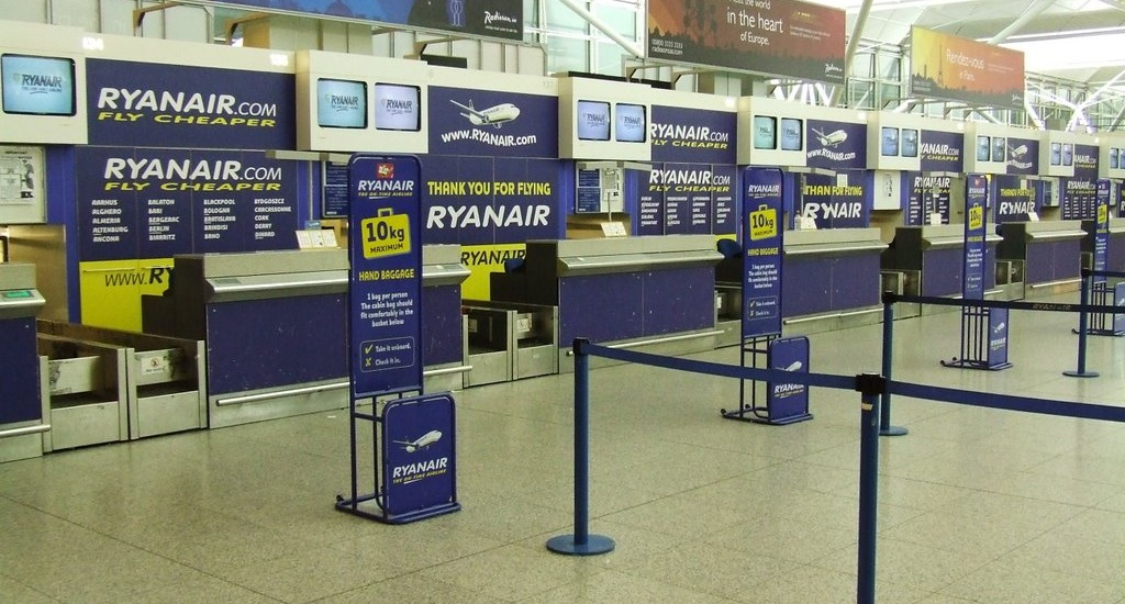 Ryanair check in laikas