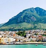 Sicilija, Castemare de Golfo. Ryanair skrydžiai į Trapanį